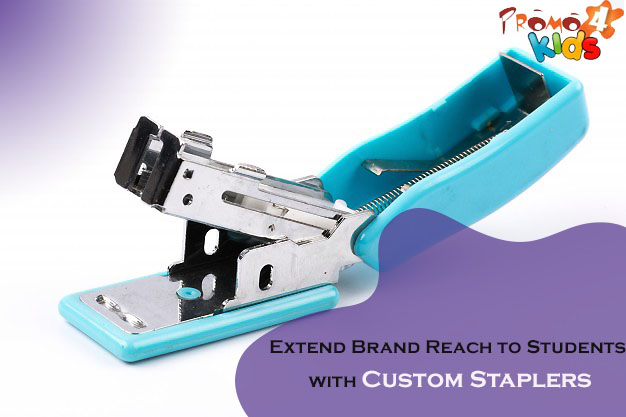 Extend Brand Reach to Students with Custom Staplers